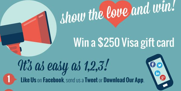 Show the Love & Get Social with Us!